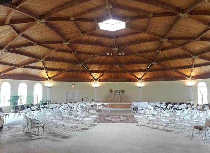 Paul & Melissa's Wedding Setup
