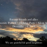 Friendship Alliance Potluck/Party/Silent Auction
