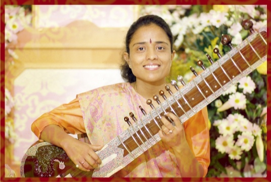 Reshma Shrivastava, Sitar, Radiance Dome, July 29th 7:15pm