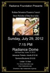 Resma Shrivastava, RadianceTX.org, July 28 2012 7:15pm